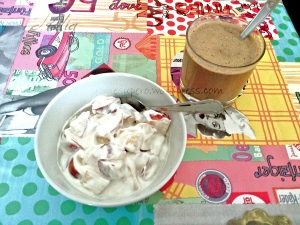 Mi desayuno de hoy :)